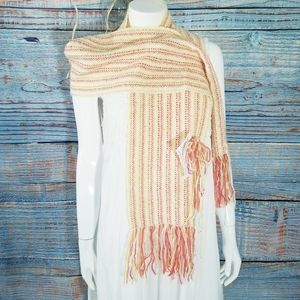 NWT Handwoven Orange & Yellow Scarf Toll House